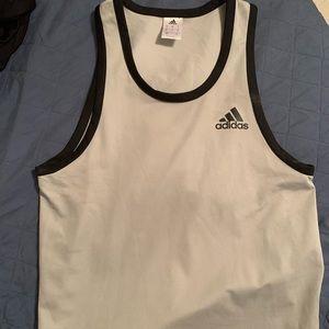 Adidas tank top grey size S